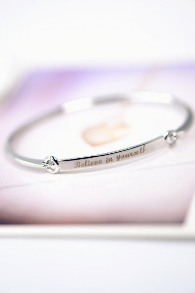 Letter Gold Plated Bracelets and Bangles For Woman