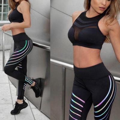 Printed Breathable Sport Fitness Yoga Pants