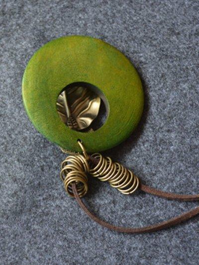 Leaf Metal Necklace