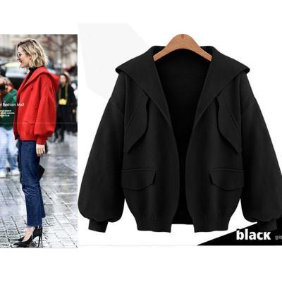 Hooded Simple Fashion Cardigan Coat