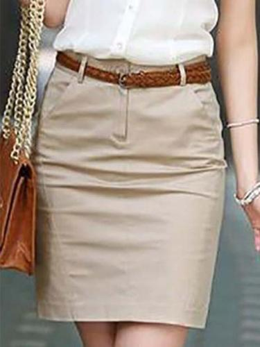 Women's OL Career A-Line Skirt