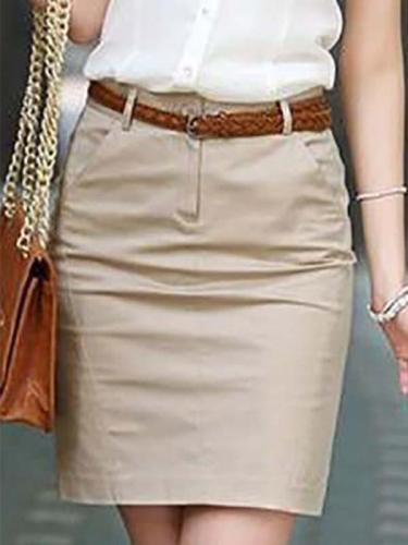 Women's OL Career A-Line Skirt