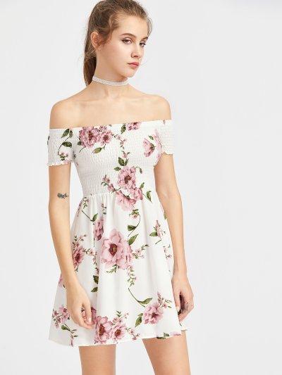 Bardot Ditsy Print Smock Dress