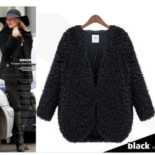 Women's Warm Lamb Coat Short Jacket