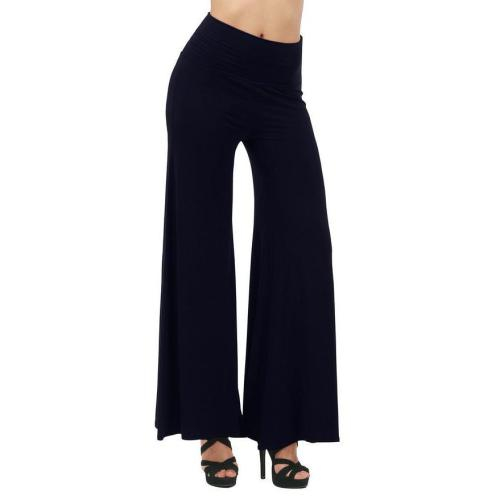 Casual High Waist Trousers Wide Leg Pants