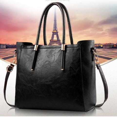Elegant Large Fashion Tote Handbag For Woman