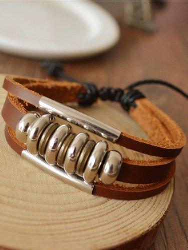 Fashion Leather Basic Bracelet