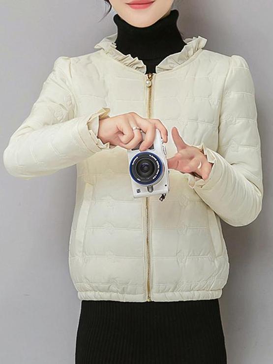 Women's Slim Cotton Jacket Outwear
