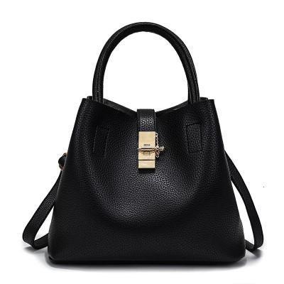 Women PU Leather High Quality Diagonal Cross Buns Handbag