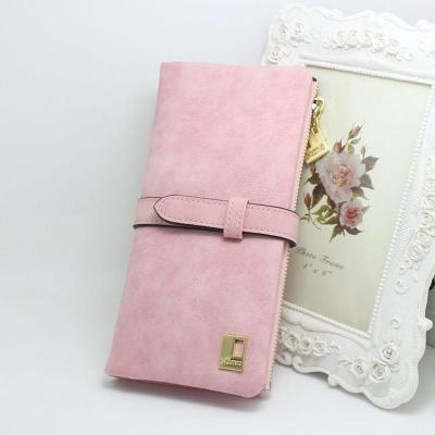 New Fashion 7 Colors Leather Zipper Wallet Women Wallets