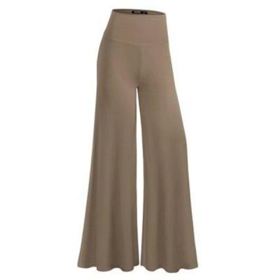 Casual High Waist Trousers Wide Leg Pants