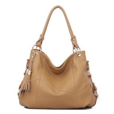 Genuine Leather Handbags Fashion Tassel Handbag