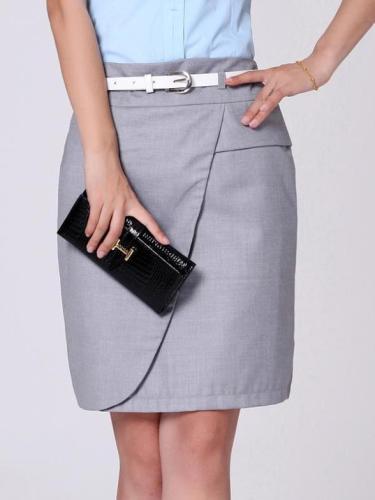 Elegant Office Pencil Skirts Plus