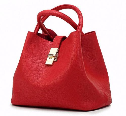 Women PU Leather High Quality Diagonal Cross Buns Handbag