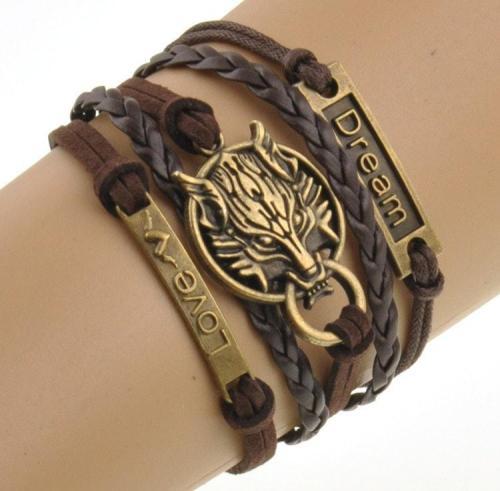 Wolf Wrist Band
