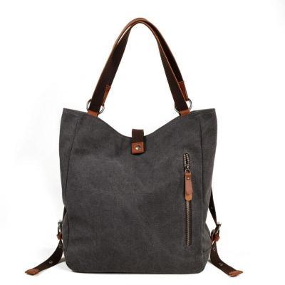 Versatile Canvas Casual Shoulder  Backpack