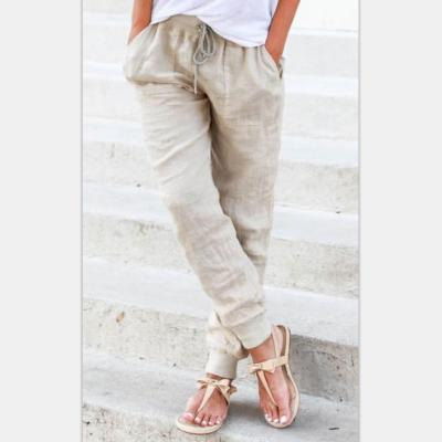 Bandwidth Loose Casual Pencil Pants