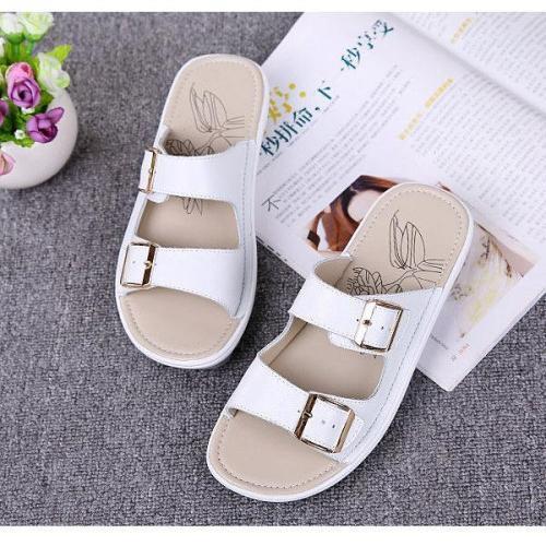 Platform Buckle Women's Sandals