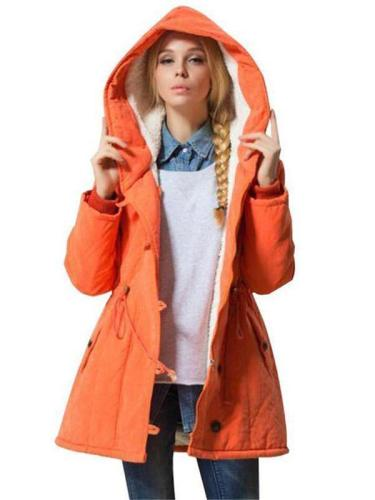 Women Winter Jacket Cotton Padded Cashmere Coat Jackets