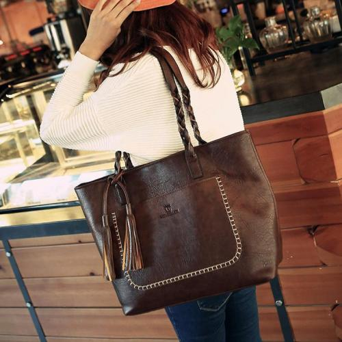 Famous Designers Leather Casual Shoulder Tote Bags