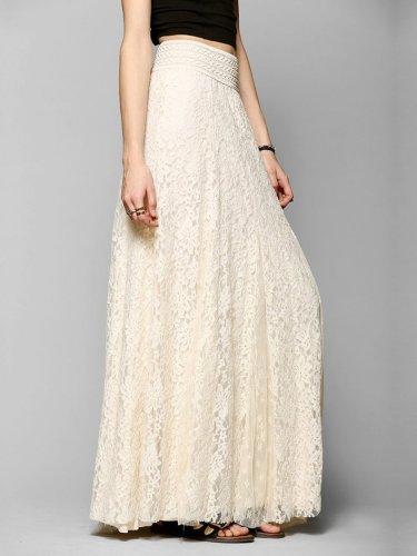 Guipure Lace Elegant Skirt