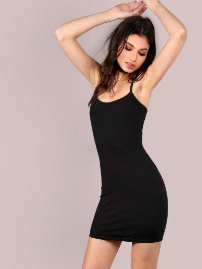 Mini Jersey Cami Dress