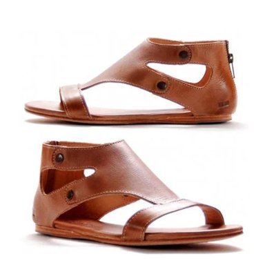 Sandals Flat Gladiator Thong Casual Summer Shoes