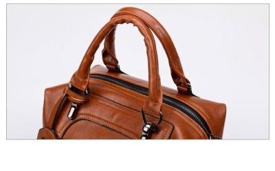 Vintage Soft Leather Woman Crossbody Bags