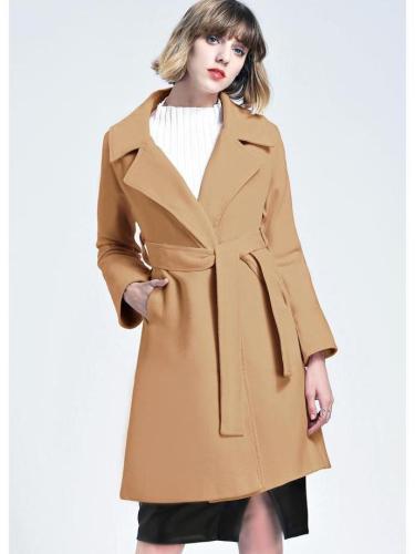 Slim Size Woolen Coat