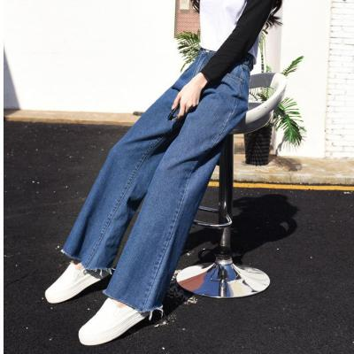 High Waist Slim Loose Trousers Jeans Pants