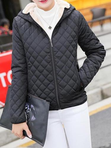 Women's Short  Wool Coat  Thick Outwear