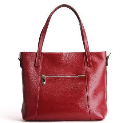 Letter Design Genuine Leather Luxury Handbag