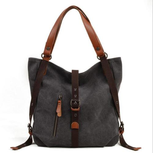 Versatile Canvas Casual Shoulder  Backpack