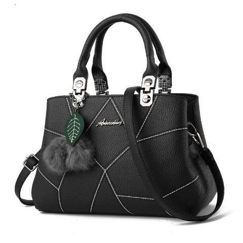 Fashion Casual Sweet Patchwork Woman Handbag
