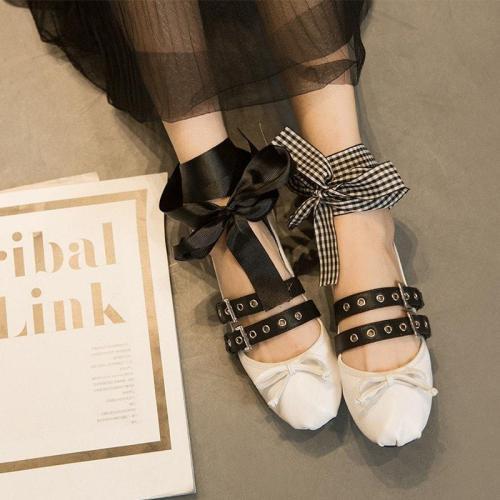 Woman Fashion Alice Ballet Flats
