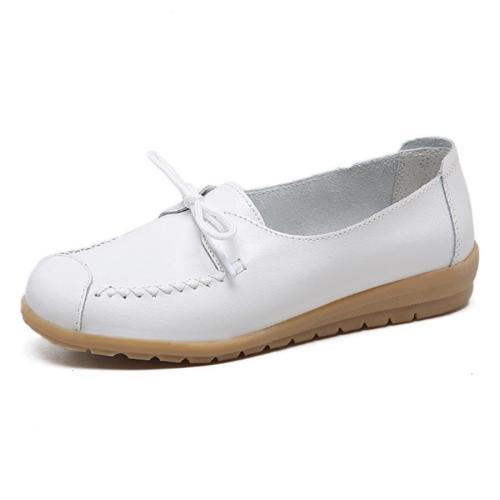 Plain  Low Heeled    Round Toe  Casual Comfort Flats