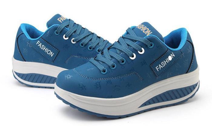 FULLINO Korean Words Woman Sport Casual Shoes