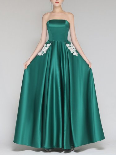 Sleeveless Sexy Long Dress Woman Bridesmaid Dress Evening Dress