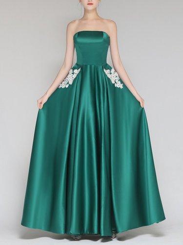 Sleeveless Sexy Long Dress Woman Bridesmaid Dress Evening Dress