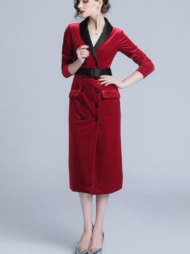 New Lacing Pleuche Bodycon Dresses