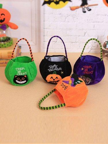 Halloween Decoration Children Pumpkin Bag Gift Bag