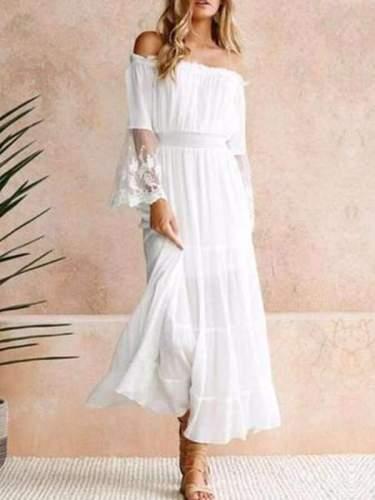 Nadia - Vintage Lace Dress