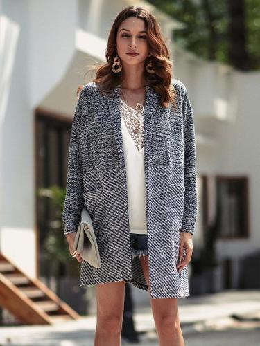 New Fashion Cardigan Knit Coats