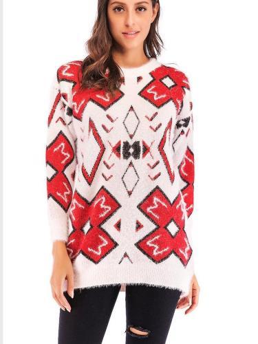 Women Thicken Christmas Plush Sweater
