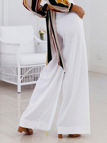 Sexy Simple Casual Tall Waist Woman Long Pants