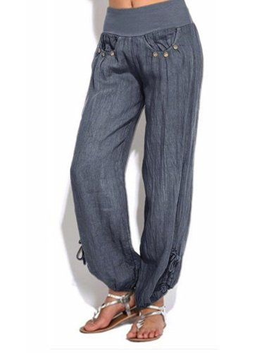 Woman Casual Comfortable Long Pants