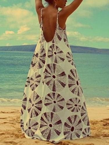 Bohemia Falbala Off Shoulder Maxi Dress
