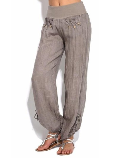 Woman Casual Comfortable Long Pants