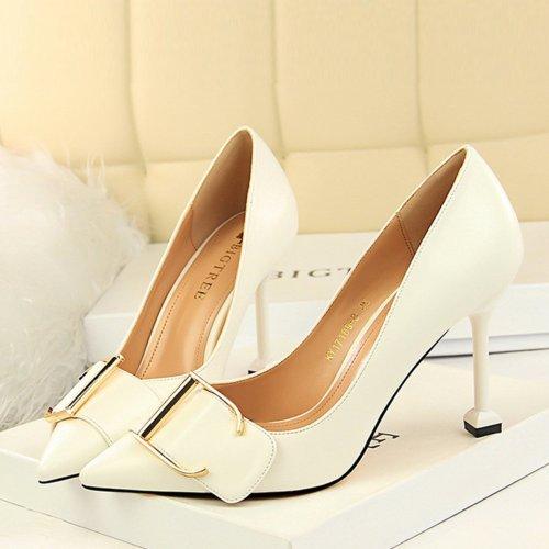More Colors Solid Color Wedding Shoes Woman Pumps