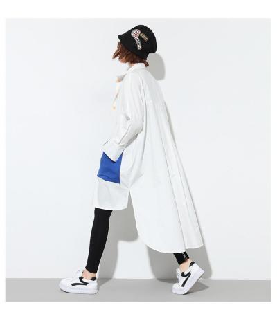 Fashion  Irregular Long Blouses